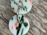 Vintage Spring Button Earring