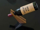 Unique Wooden Wine Holder
