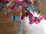 Feather Butterfly Bouquet