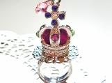 Glitter Crown with Swarosvki Crystal Ring