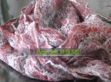 Marlene -  felt scarf, cobweb