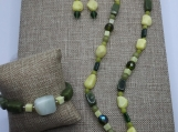 Multi Gemstone Beggar Beads Suite