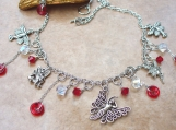 Fairy Inspired Charm Necklace