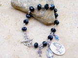Rosary Inspired Bracelet - Hand-Wired - Beautiful