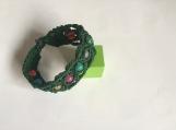 women's handmade woven & braided bracelet