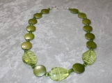 Camouflage Green Collection Necklace