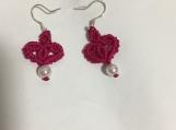 New Fashion 2020 Creative Charm Love Heart braided Red  Drop Earrings* Dangles  For Women Men Handmade  Woven  Earrings Lucky Jewelry Gift