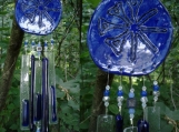 Anu Clay Wind Chime Glass Ceramic SumerianBlue Pottery