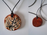 Atlantean Necklace Ceramic Pendant