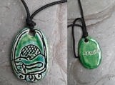 Mayan Chikchan Necklace Snakebite Tzolk'in Day Sign