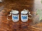 Unique Canned Veggie Earrings