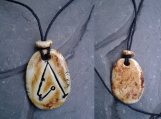 Archangel Metatron Necklace Ceramic Pendant