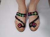 Fashion women's sandals,Summer sandals, handmade sandals, outdoo