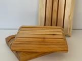 Soap Dish - BC Yellow Cedar