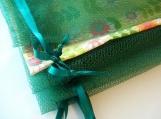 Reusable Produce Vegetable Bulk Bags 7 Pieces in Hunter Green