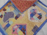 Quilt full of Hearts