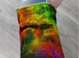 Rainbow Smoke Wrist Wallet, Wallet, Rainbow, Gift For Him, Gift For Her, Money Cuff, Wrist Wallet, Running, Wrist Cuff, Gym, Ring Holder