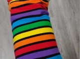 Rainbow Wrist Wallet, Wallet, Rainbow Stripe, Gift, Gift For Them, LGBTQ+, Gift, Wrist Wallet, Running, Ring Holder, Gym Wallet, Wristband