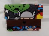 Superhero Character Kids Wallet, Superhero Wallet, Kids Wallet, Gift for Children, Gift for Kids, Wallet for Kids, Wallet for Children