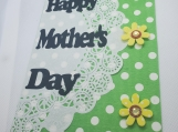 Yellow Flowers Mom Card