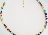 Darling Rainbow Colored Necklace