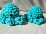 Green Octopus Keychain