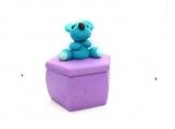 Bear on a jewelry box