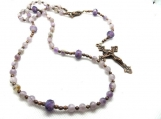 Catholic rosary prayer beads