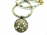 Circle of stars necklace