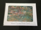 Hand Painted Note Card #4667 Free Shipping