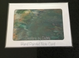 Hand Painted Note Card #4668 Free Shipping