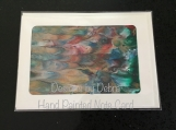 Hand Painted Note Card #4671 Free Shipping