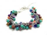 Multi color cha cha bracelet