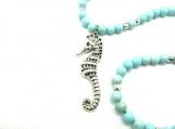 Sea horse necklace set