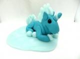 unicorn on a cloud cake topper keepsake