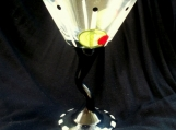 Hand Painted Martini Glass, Drunken Olives, Dishwasher Safe
