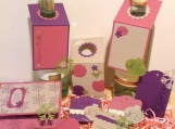 Gift Giving Set - Wine tags, Gift tags and a Gift Card Holder