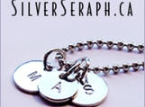 Hand-Stamped Sterling Silver Initial Charms
