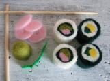 Felted Wool Sushi Set