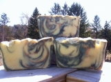 Kashmir a Nag Champa Blend Handcrafted Artisan Soap  FREE SHIPPING