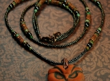 The Goddess - Owl Hecate Wicca Pagan Necklace - Witchery