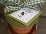::THE WINDOWSILL HERB POT...flower garden kit::