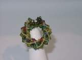 """Christmas Wreath"" Brooch"