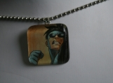 Invincible Tile Pendant