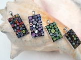 ON SALE: Rectangle Mosaic Pendants
