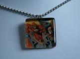 The Flash Glass Tile Pendant