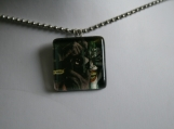 The Joker Glass Tile Pendant