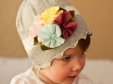 cute and cuddly hat that's oh so soft and comfy!