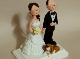 Cake Topper - Custom Made - Beagle