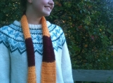 Harry Potter Knitted Scarf